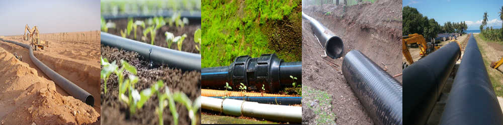 HDPE PIPE IN MINING-IRRIGATION-FARM-SEWERAGE-WATERWORKS