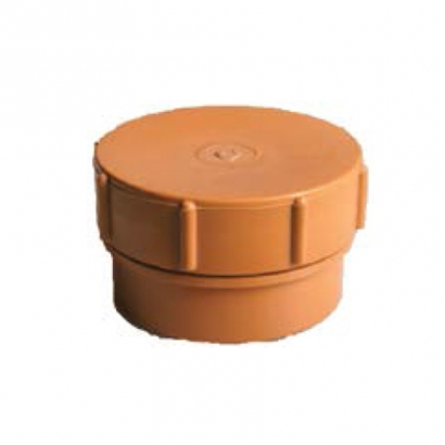 Paling Underground Drainage Sewer Piping System UPVC Fitting Series Socket Plug With Screw On Cap