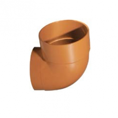 Paling Underground Drainage Sewer Piping System UPVC Fitting Series WC Connecting Bend