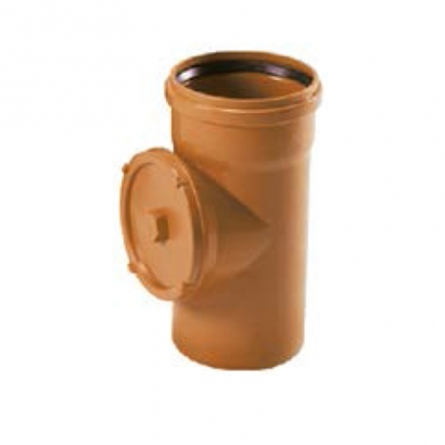 Paling Underground Drainage Sewer Piping System UPVC Fitting Series Access Pipe