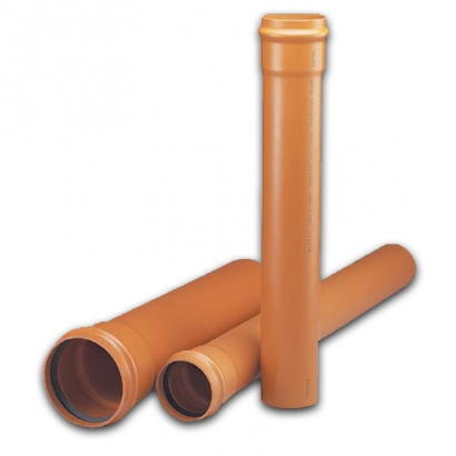 Paling Underground Drainage Sewer Piping System UPVC Pipe Series Pipe
