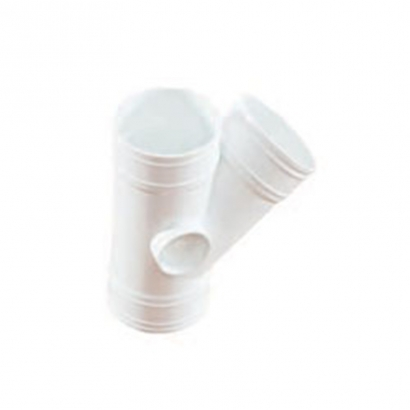 South Asia Exact UPVC Soil Waste And Ventilation Series 45° Y Branch (Y Tee)