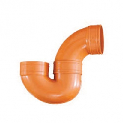 South Asia Exact UPVC Underground Brown Pipe Series Underground P Trap (U Body) UZ50