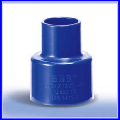 Bina Plastic BBB ABS Pressure Fittings Series Reducing Socket FBRS