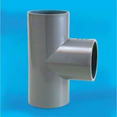 Bina Plastic BBB UPVC Pressure Fittings Series Equal Tee FPET
