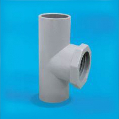 Bina Plastic BBB UPVC Pressure Fittings Series Faucet Tee FPPTT