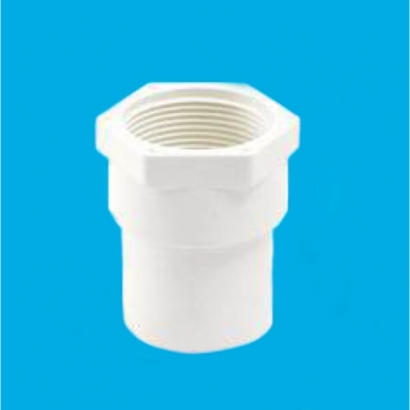 Bina Plastic BBB UPVC Soil Waste and Ventilating Fittings Series Faucet (PT) Socket FUPTS