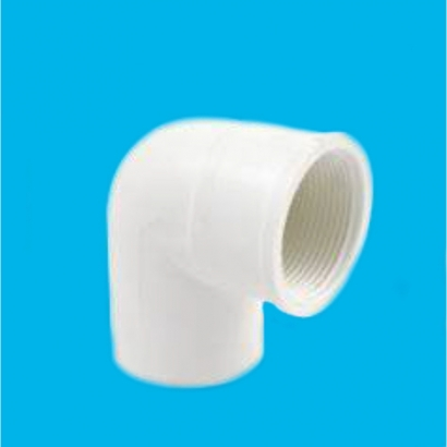 Bina Plastic BBB UPVC Soil Waste and Ventilating Fittings Series Faucet (PT) Elbow FUPTE
