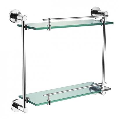 Senna 2000 Series 2081 Double Glass Shelf