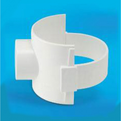 Bina Plastic BBB UPVC Soil Waste and Ventilating Fittings Series Boss Connector FUBC