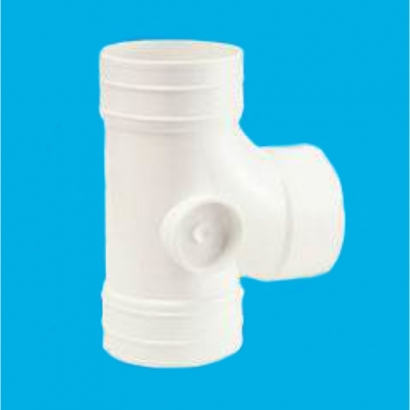Bina Plastic BBB UPVC Soil Waste and Ventilating Fittings Series Equal Single Branch FUESB