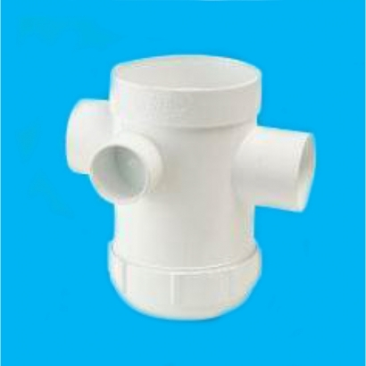 Bina Plastic BBB UPVC Soil Waste and Ventilating Fittings Series Floor Gully With Inspection Opening FUFG