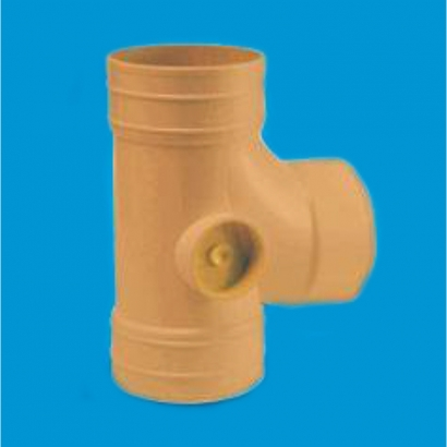 Bina Plastic BBB UPVC Underground Drainage and Sewerage Fittings Series Equal Single Branch FUGESB