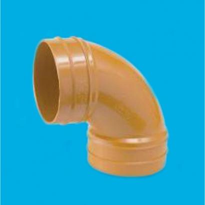 Bina Plastic BBB UPVC Underground Drainage and Sewerage Fittings Series Sweep Bend FUGSB