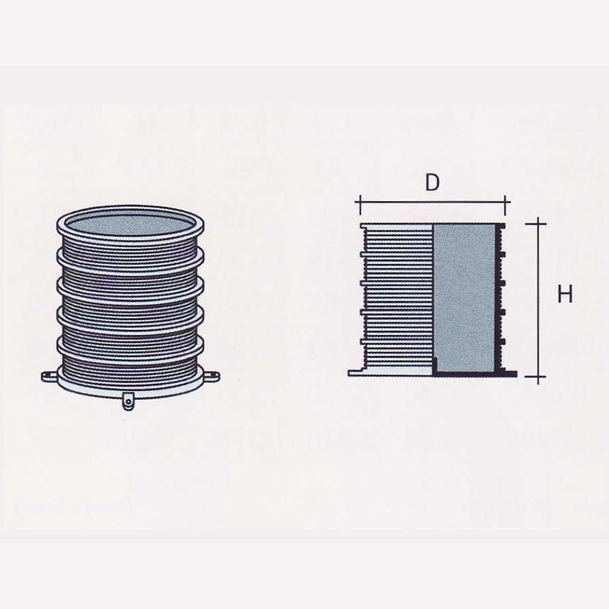 Besstem UPVC Rainwater Fittings Series Pipe Sleeve