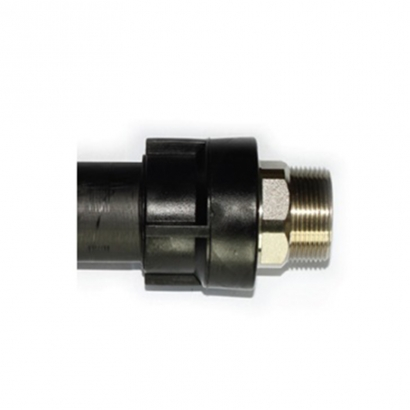 Sansico Electrofusion Fittings Series Transition Brass Male Thread Adaptor (Fabricated Item) STMTA