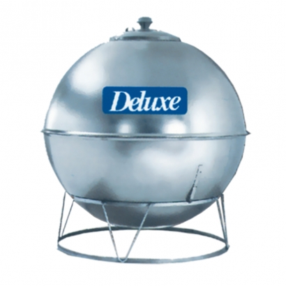 Deluxe 304 Stainless Steel Water Tank Earth Shape With Stand Series