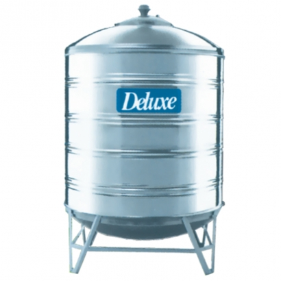 Deluxe 304 Stainless Steel Water Tank Vertical Tank Round Bottom with Stand Series
