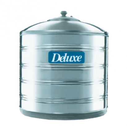 Deluxe 304 Stainless Steel Water Tank Vertical Without Stand Flat Bottom Series