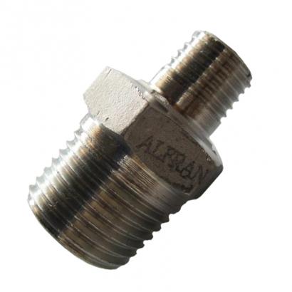 Unitrade Alfran 304 Stainless Steel Fittings Screwed Reducing Nipple