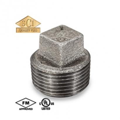 Kinko Yodoshi Galvanised Malleable Iron (G.I) Pipe Fittings Plugs
