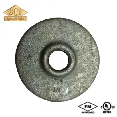 Kinko Yodoshi Galvanised Malleable Iron (G.I) Pipe Fittings Round Flanges