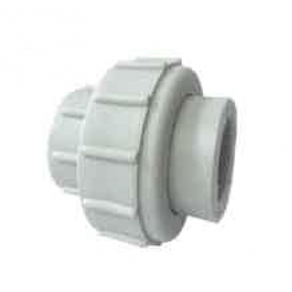 Azeeta PPR Hot and Cold Water Plumbing PPR Fitting System Union Socket