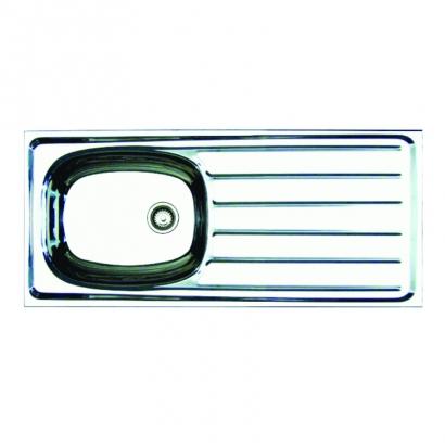 CAM Single Bowl Single Drainer Aluminium Sink AH0810A