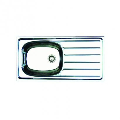 CAM Single Bowl Single Drainer Aluminium Sink AH0815A