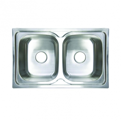 CAM Double Bowl Stainless Steel AHI1019BWC