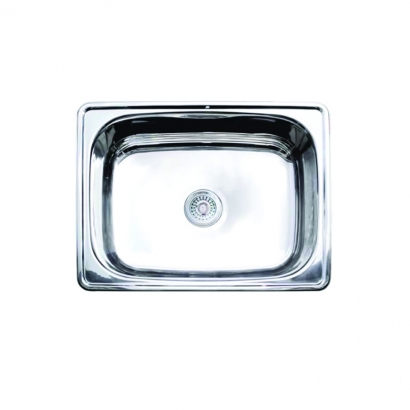 CAM Under Counter Single Bowl Stainless Steel Sink AHC0680PBS