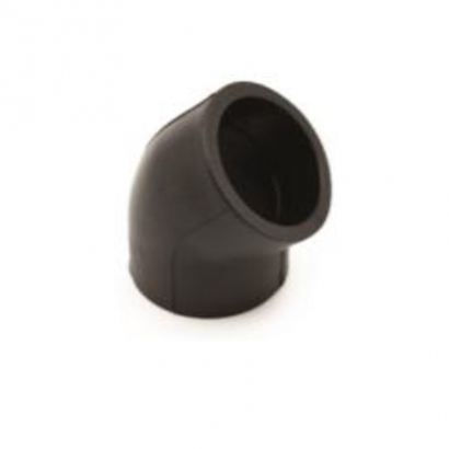 Dura Fitting HDPE Smart Fuse PE Socket Fusion Fittings 45° Elbow
