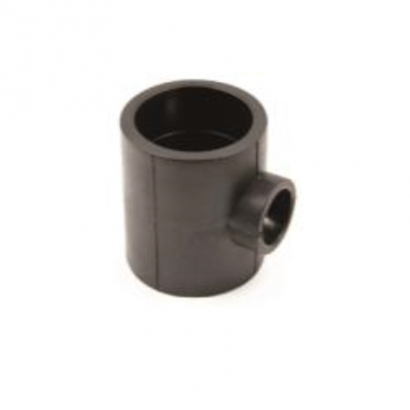 Dura Fitting HDPE Smart Fuse PE Socket Fusion Fittings Reducing Tee