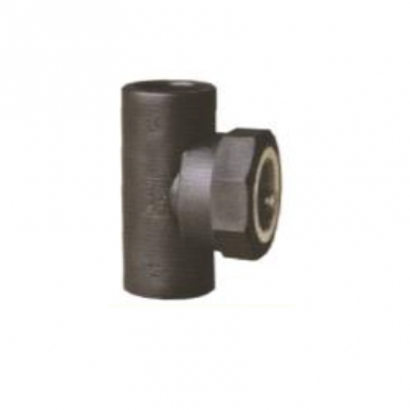 Dura Fitting HDPE Smart Fuse PE Socket Fusion Fittings Female Tee