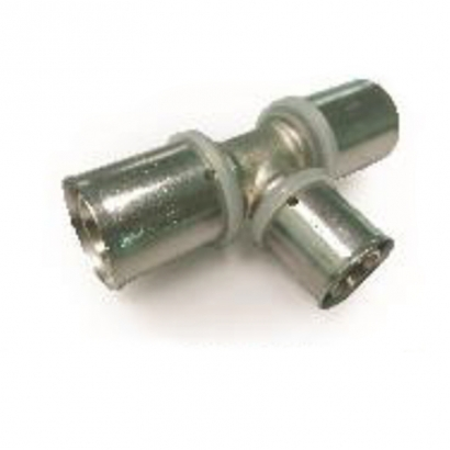 Dura Fitting Brass Press Solid Press Fittings Reducing Tee