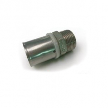 Dura Fitting Brass Press Solid Press Fittings Male Socket