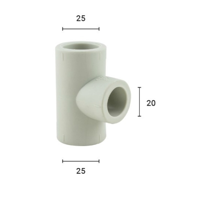 Bina Plastic BBB Hot and Cold PPR Fitting Reducing Tee