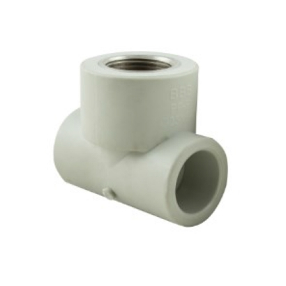 Bina Plastic BBB Hot and Cold PPR Fitting Threaded Female Tee