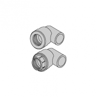 Bute Engineering PPR Hot and Cold Water System PPR Fitting Female Elbow Adaptor 90°
