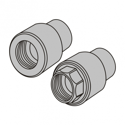 Bute Engineering PPR Hot and Cold Water System PPR Fitting Female Thread Adaptor