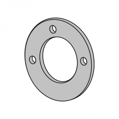 Bute Engineering PPR Hot and Cold Water System PPR Fitting Flange