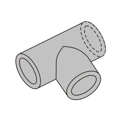 Bute Engineering PPR Hot and Cold Water System PPR Fitting Equal Tee
