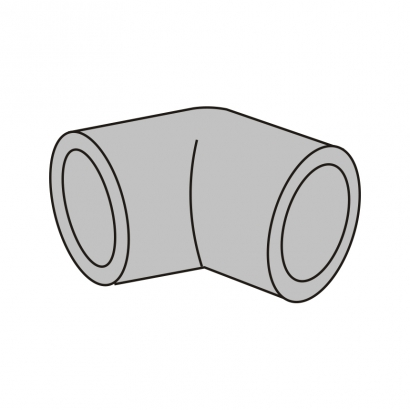 Bute Engineering PPR Hot and Cold Water System PPR Fitting Elbow 45°