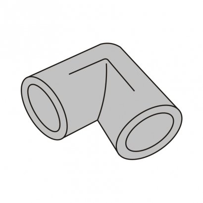 Bute Engineering PPR Hot and Cold Water System PPR Fitting Elbow 90°