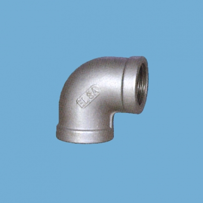 Elsa Brand Type 304 Stainless Steel Fitting Equal Elbow