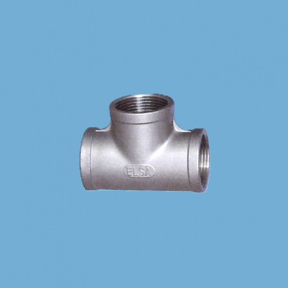 Elsa Brand Type 304 Stainless Steel Fitting Equal Tee