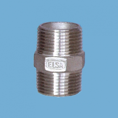 Elsa Brand Type 304 Stainless Steel Fitting Hexagon Nipple