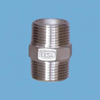 Elsa Brand Type 304 Stainless Steel Fitting Hexagon Nipple