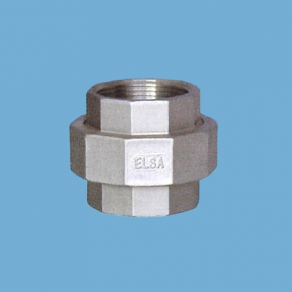 Elsa Brand Type 304 Stainless Steel Fitting Union