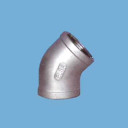 Elsa Brand Type 304 Stainless Steel Fitting Elbow 45°